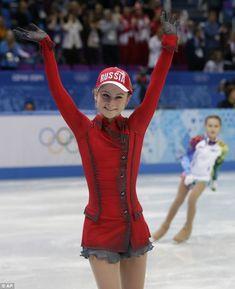 Russia's Yulia Lipnitskaya, Olympic Gold Medalist