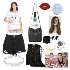 """Going to a jack and jack concert"" by ineedmagcon on Polyvore featuring Kendall + Kylie, New Look, Lime Crime, Miss Selfridge and Saachi"