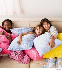 Is she planning a sleepover?  Check out the Sleepover Survival Guide, to make sure she (and you) are ready.