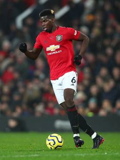 Paul Pogba of Manchester United in action during the Premier League match between Manchester United and Newcastle United at Old Trafford on December. Paul Pogba Manchester United, Manchester United Football, Soccer Pictures, Soccer Pics, Messi And Ronaldo, Premier League Matches, Old Trafford, Man United, Newcastle