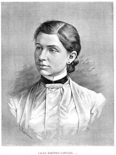 Born the eldest daughter of a wealthy Spanish family, Laura Martinez de Carvajal was only ten years old when she began her undergraduate work.  She was nineteen when she graduated with a degree in medicine from the University of Havana and when on to become Cuba's first female doctor.