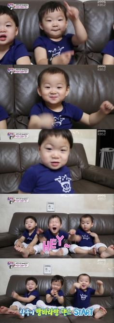 "Song Il Gook's Triplets Are Dancing Machines on ""Superman Returns"" 