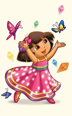 Dora Pictures, Cute Pictures, Bday Cake Pics, Dora Wallpaper, Cartoon Character Pictures, Dora Coloring, Dora The Explorer Images, Dora And Friends, Doraemon Wallpapers