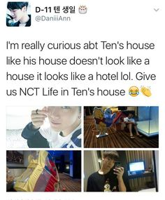 Ten definitely a rich kid