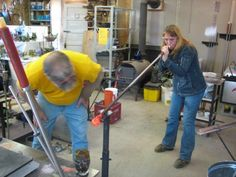 Learn to blow glass DONE! glass blowing class in Seattle for Christmas present :)  I would love to learn more