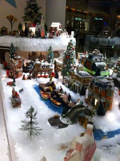 emilie SLOAN store Christmas Village Pacific Place - Downtown Seattle