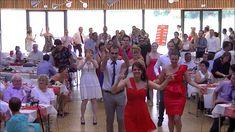Flashmob Mariage C'est la vie