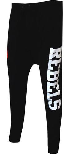 WebUndies.com Star Wars Rebel Alliance Black Jogger Pants