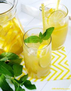 Skinny & Healthy Citrus Green Iced Tea Recipe