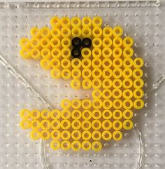 Kids Art Crafts DIY Kit Hobby Hama Beads Pacman Magnet