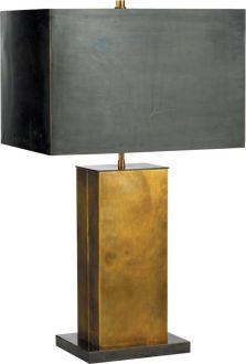 Pull Chain Table Lamp From Clayton Gray Homestunning Concrete & Brass  Thanks Courtney