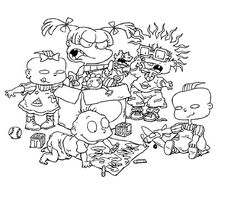 Rugrats Coloring Pages   More Rugrats Coloring Pages   Everything ...