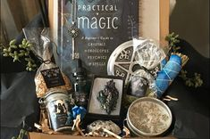 The Ultimate List of Witchy Subscription Boxes - Jessica Dimas Witchcraft Spell Books, Magick Spells, Subscription Boxes, Monthly Subscription, Magic Box, Polymer Clay Animals, Polymer Clay Miniatures, Practical Magic, Crystal Shop