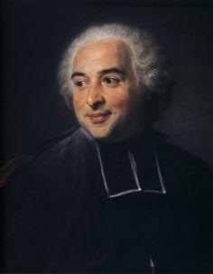 François-Emmanuel Pommyer, abbot of Bonneval - Морис Кантен де Латур