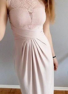 Kup mój przedmiot na #vintedpl http://www.vinted.pl/damska-odziez/dlugie-sukienki/17674835-pudrowa-sukienka-asos-maxi-xs