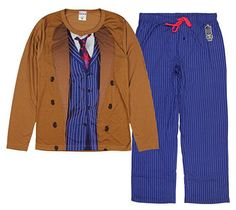 Official #DoctorWho Tenth Doctor PJs!
