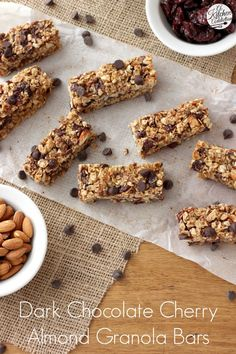 Cherry Protein Granola Bars with Chia Seeds | Recipe | Granola ...