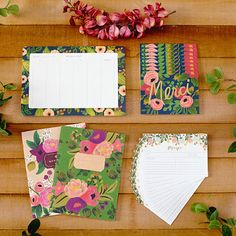 Rifle Paper Co. was founded in a garage by a husband-and-wife team who are dedicated to crafting high-quality stationery right here in the USA. They use FSC-certified paper with recycled content in all their handmade note cards, journals, note pads and art prints so that they will last as keepsakes.