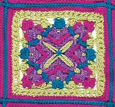 Talking Crochet ... Joyous Squares
