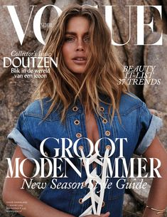 Doutzen by Jan Welters for Vogue NE March 2015