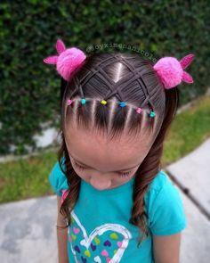 Hair Styles for Women That Enhance Their Beauty – HerHairdos Girls Hairdos, Lil Girl Hairstyles, Cute Little Girl Hairstyles, Braided Hairstyles Updo, Hairband Hairstyle, Braided Updo, Prom Hairstyles, Braid Styles For Girls, Hair Patterns