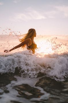 inspire | free | ocean | breathe | waves | crashing | sea | girl |
