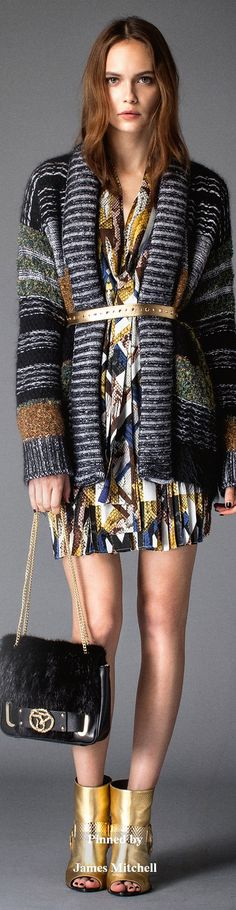 Just Cavalli Collection  Pre-Fall 2015.              I
