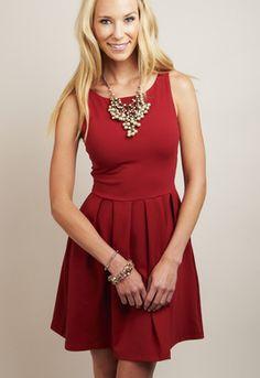 SUSANA MONACO: Edina Dress #shopmama #cherryred #edinadress