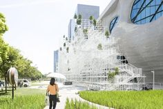 Sou Fujimoto imagines 'futuristic' architecture with mountain-like translucent structure in Shanghai
