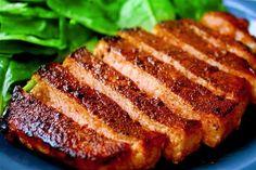 Cocoa & Chili Rubbed Pork Chops Recipe | gimmesomeoven.com