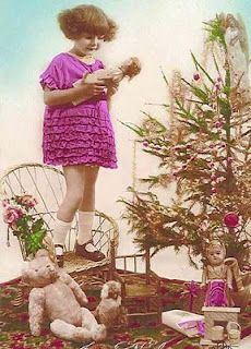 vintage photos Vintage Christmas Photos, Vintage Children Photos, Vintage Girls, Vintage Images, Retro Vintage, Old Pictures, Old Photos, Nouvel An, Christmas Past