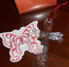 Waterford Marquis Cross Ornament 108749 Christmas Holiday