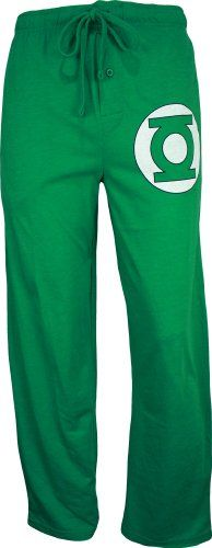 Green Lantern Men's Heathered Green Sleep Pant $11.79 (61% OFF) + Free Shipping