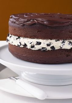 Chocolate-Covered OREO Cookie Cake- Discover the sweetest flavor when you try this cake that will shine with its chocolaty ingredients. Oreo Cookie Cake, Cake Cookies, Cupcake Cakes, Chocolate Biscuit Cake, Chocolate Desserts, Sweet Recipes, Cake Recipes, Dessert Recipes, Cake Truffles