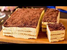 Tort bez pieczenia w zaledwie 10 minut! Prosty w przygotowaniu, ale niezwykle smaczny! | Smaczny.TV - YouTube Family Meals, Nutrition, Cookies, Baking, Cake, Ethnic Recipes, Cookie Cakes, Bolo De Chocolate, Pound Cake