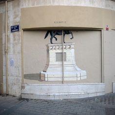 ReCortes (Valencia, Spain) by escif, via Flickr