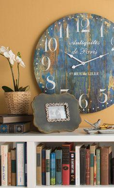 Clock in retro style
