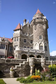 Casa Loma is a Gothic Revival style mansion and gardens in midtown, Toronto, Ontario, Canada, that is now a museum and landmark. It was originally a residence for financier Sir Henry Mill Pellatt. Casa Loma was constructed over a three year period from 1911-1914. The architect of the mansion was E. J. Lennox.