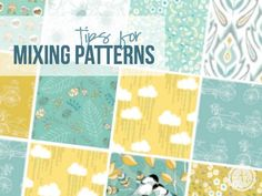 Here are some great tips and tricks for mixing patterns! Lots of picture examples and quick tips that are easy to follow! | Happily Ever After, Etc.  http://www.happilyeverafteretc.com/2015/04/10/tips-for-mixing-patterns/