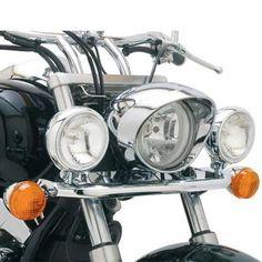 Cobra Lightbar Angled w/Bullet Spotlights Fits 10-14 Honda VT750C2B Shadow Phantom