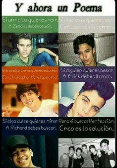 Read capitulo 10 from the story Amor o Amistad ❤❤❤❤❤❤ Cnco y Tu by (jazmin valencia) with reads. Memes Cnco, Best Memes, Jokes, A Gomez, Cnco Richard, Latin Artists, Prince Royce, Spanish Memes, Ricky Martin