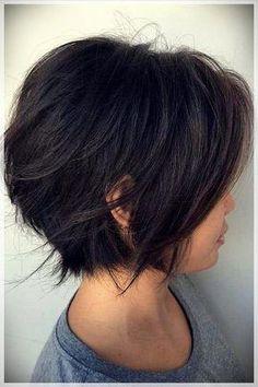 Hairstyles for Short Hair 2019 - Frisuren femme Easy Hair Cuts, Curly Hair Cuts, Short Curly Hair, Curly Hair Styles, African Braids Hairstyles, Undercut Hairstyles, Short Bob Hairstyles, Braided Hairstyles, Simple Elegant Hairstyles
