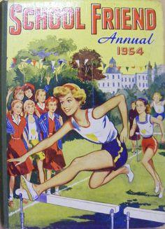 http://www.hanselledbooks.co.uk the-school-friend-annual-1954-14971