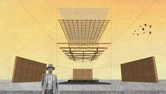 natura futura's 'the house of prayer' has a permeable façade made of wooden mesh