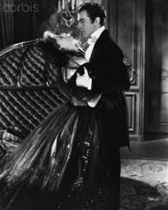 Greta Garbo and Robert Taylor in Camille, c. 1936