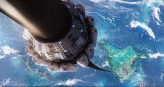 Yapılması Planlanan Uzay Asansöründen Dünyaya Bakış
