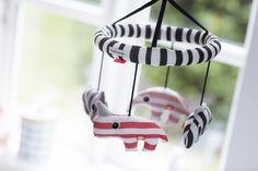 Muziekmobiel 3D - Roze | Baby Speelgoed | Gras onder je voeten