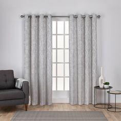 Lamont Nature/Floral Room Darkening Grommet Curtain Panels & Reviews | Joss & Main