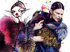 Art and fashion get together
