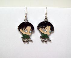 Attack on Titan earrings geek anime anime by Eternalelfcreations, $8.00
